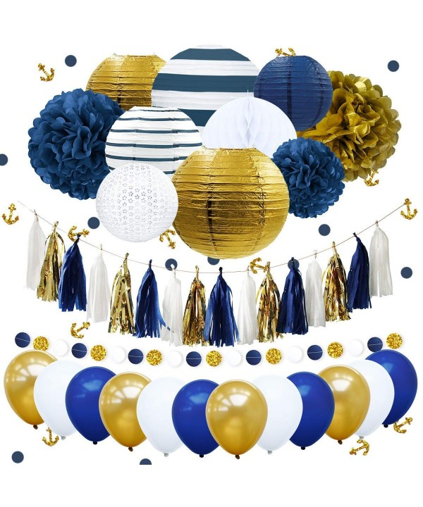 NICROLANDEE Nautical Bachelorette Decorations Lanterns