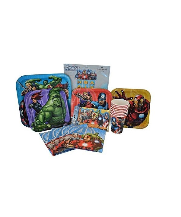 Avengers Birthday Supplies Napkins Invitations