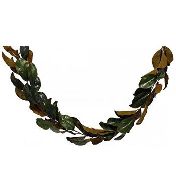 BD Crafts Artificial Magnolia Garland