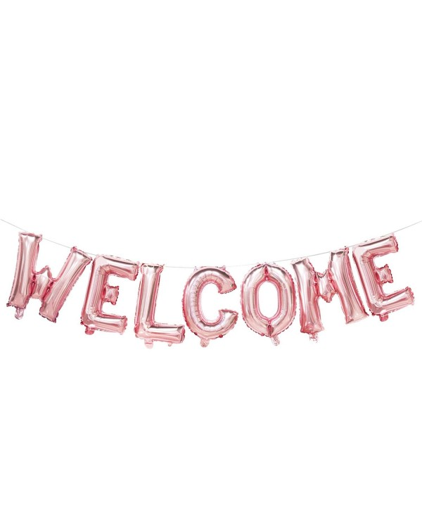 Welcome Balloons Birthday Bachelorette Decorations