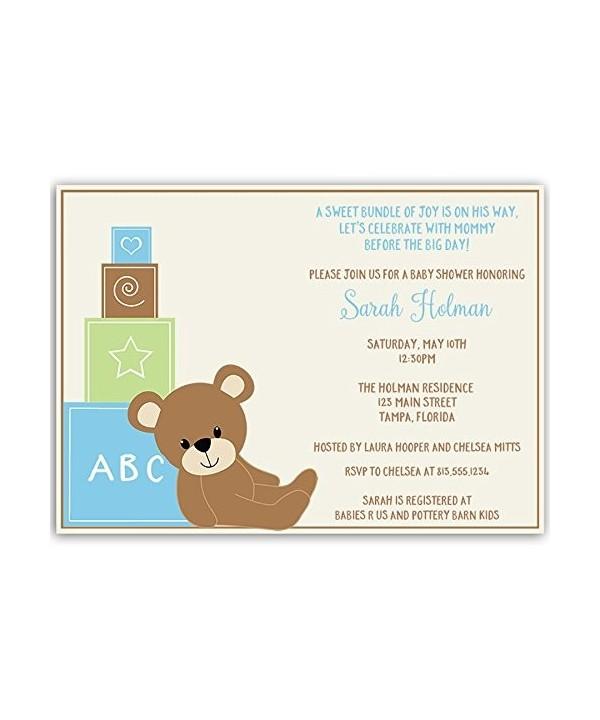 Invitations Sprinkle Personalized Customized Envelopes