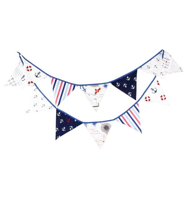Nautical Birthday Pennant Pattern Decoration