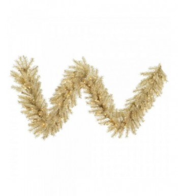 Vickerman White Tinsel Garland lights