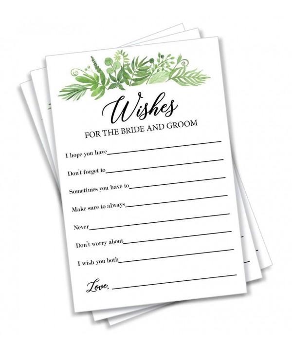 Greenery Wishes Bride Groom Alternative