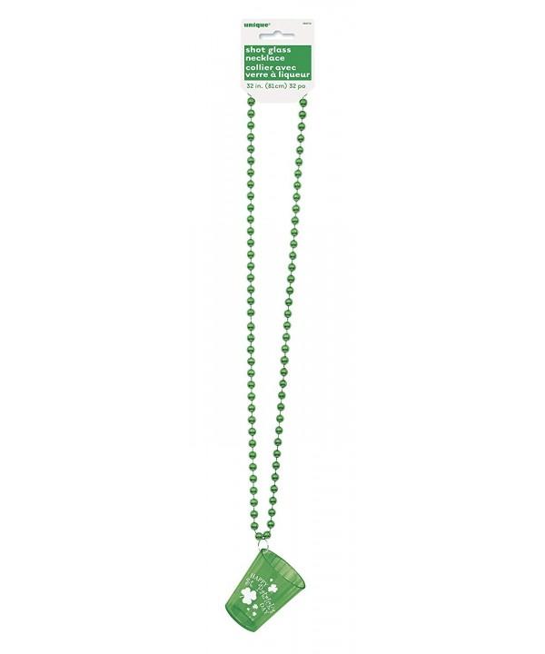 Saint Patricks Shot Glass Necklace