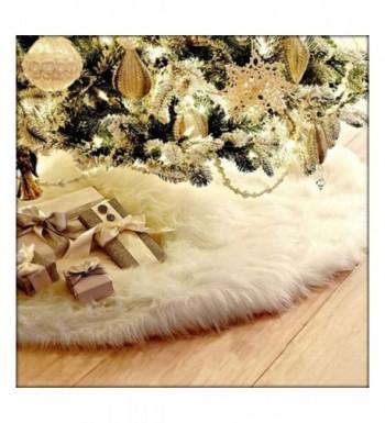 AOGU Christmas Skirt White Decoration