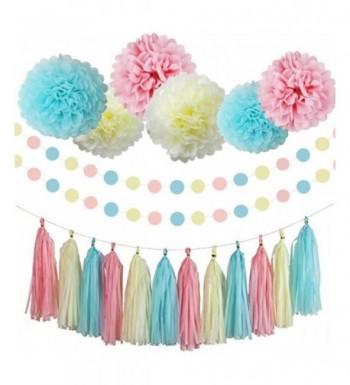 Gender Reveal Supplies Decorations Garland