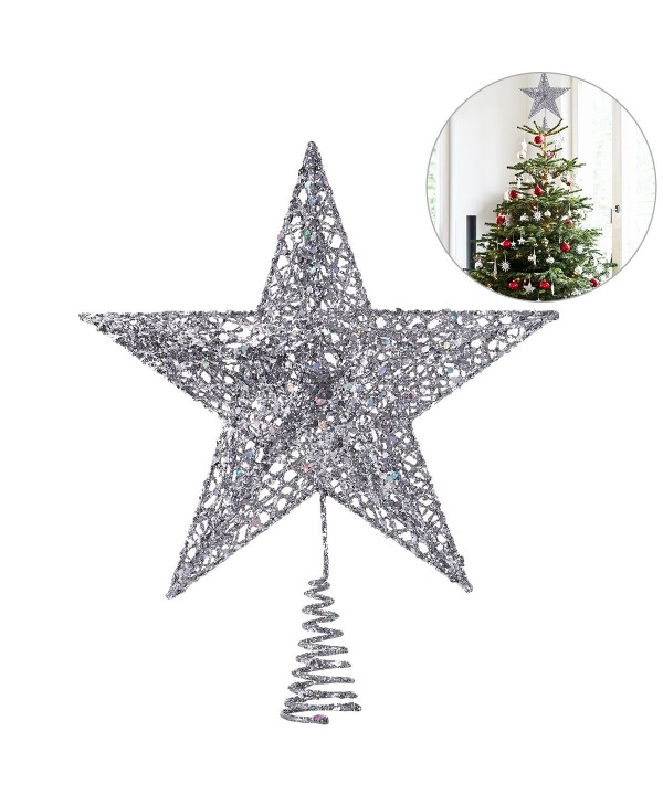 Christmas Tree Topper Star Christmas Tree Decoration Star Treetop Decor 20cm Cs187k9z8mk