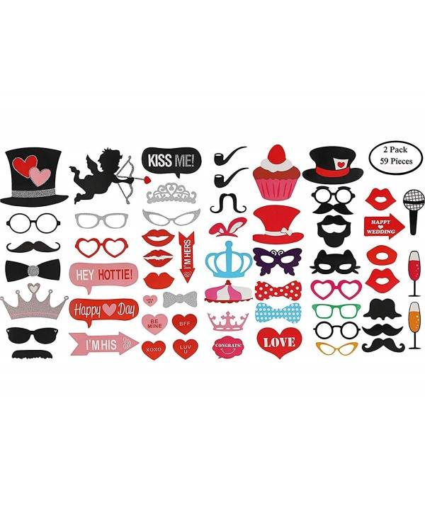 KissDate Valentines Mustaches Perfect Decorations Graduation