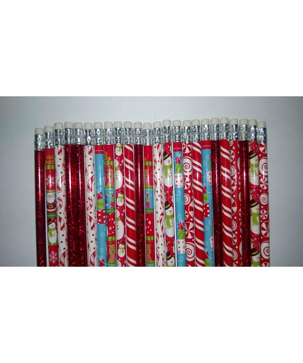 Holiday Christmas Pencils Stocking Stuffers