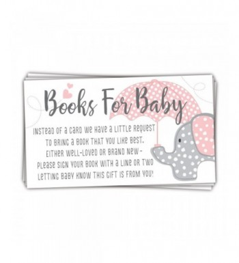 Elephant Books Shower Request Cards