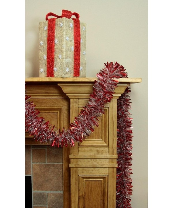 F C Young Silver Christmas Garland