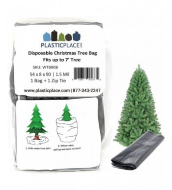 Plasticplace Christmas Disposal Storage Bag Fits