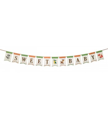Lillian Rose Woodland Bunting Neutral