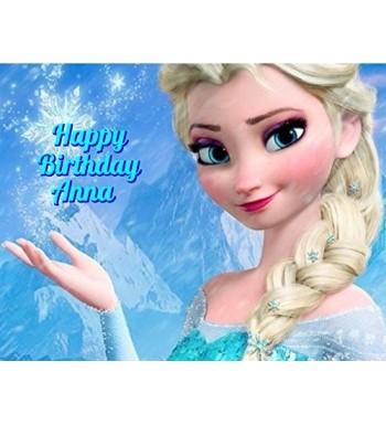 Frozen Personalized Custom Customized Birthday