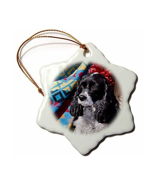 Dogs Southwestern Snowflake Porcelain Kahley2Yille