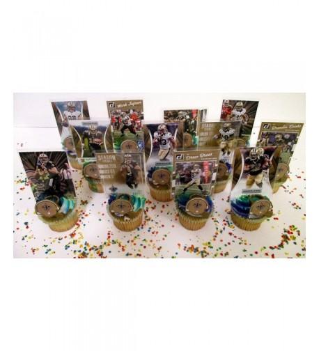 Orleans Saints Birthday Cupcake Topper