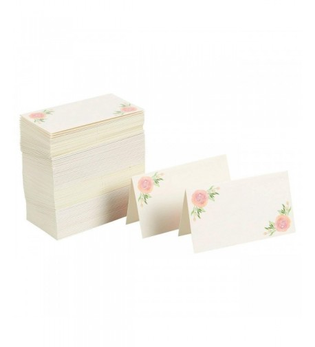 Floral Table Place Cards Celebrations