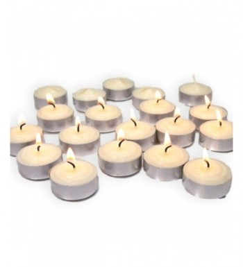 BANBERRY DESIGNS Tealight Candles White