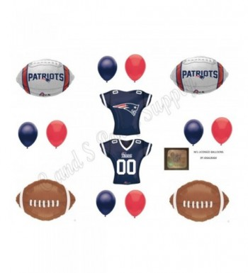 PATRIOTS Birthday Party Balloons Decoration