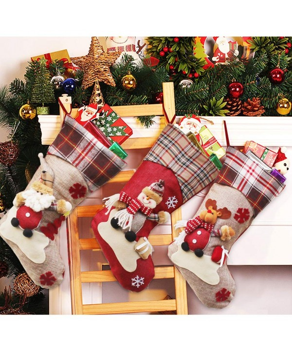Dreampark Christmas Stockings Character Decoration