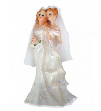Lesbian Bridal Cake Topper High