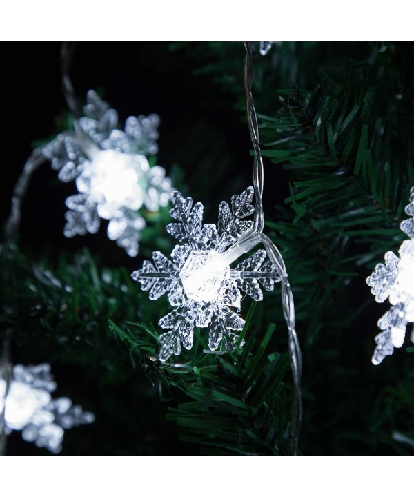 Snowflake Operated Qualife Christmas Decorations