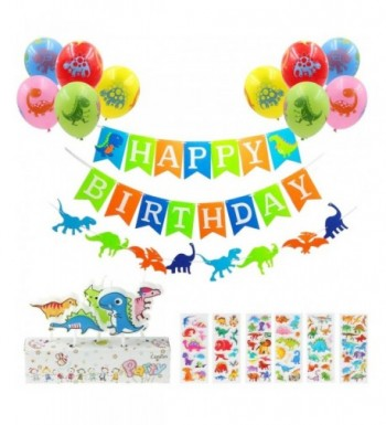 Dinosaur Birthday Party Decoration Stickers Party