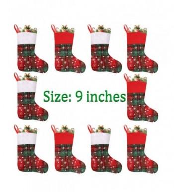 Vanteriam Christmas Stockings Snowflakes Decorations