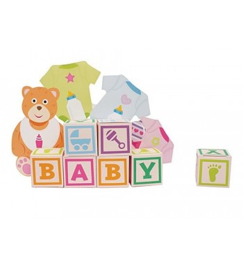 Baby Favor Centerpiece Shower Party