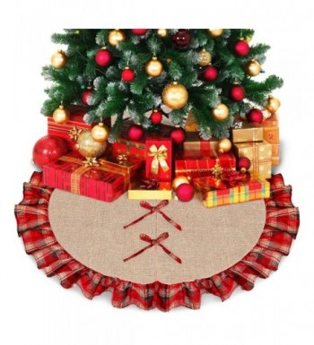 Ivenf Burlap Christmas Holiday Decorations