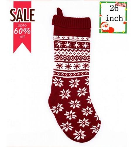 FREEDARE Christmas Stockings Decorations Storage