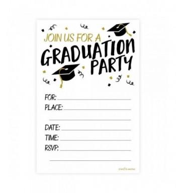 Graduation Party Invitations Envelopes Count