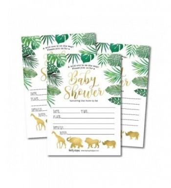Invitations Sprinkle Neutral Printable Supplies