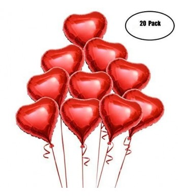 OULII Balloons Valentines Engagement Decoration