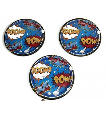 Superhero Slogans Birthday Plates Bundle