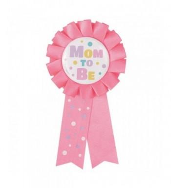 Pink Baby Shower Award Ribbon