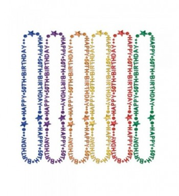 Beistle 57237 50 Piece Birthday Multicolor
