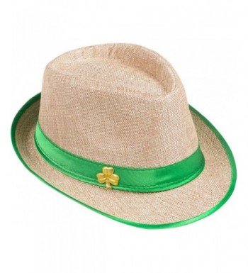 Patricks Shamrock Fedora Costume Accessory