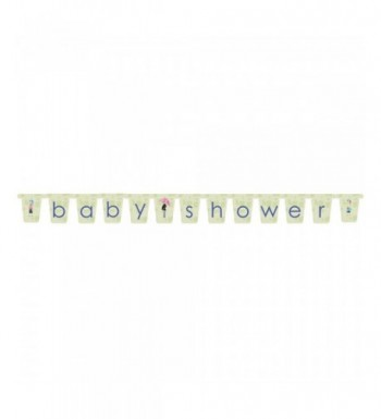 Mod Baby Shower Letter Banner