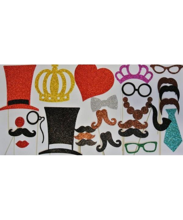 Photo Booth Mustache Wedding Valentines