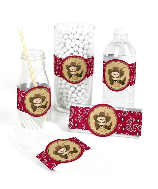 Little Cowboy Supplies Birthday Decorations