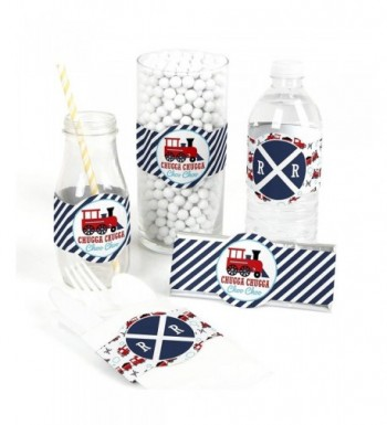 Railroad Party Crossing Supplies Decorations