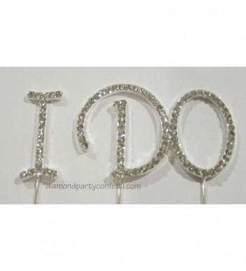 Rhinestone Crystal Silver Wedding Engagement
