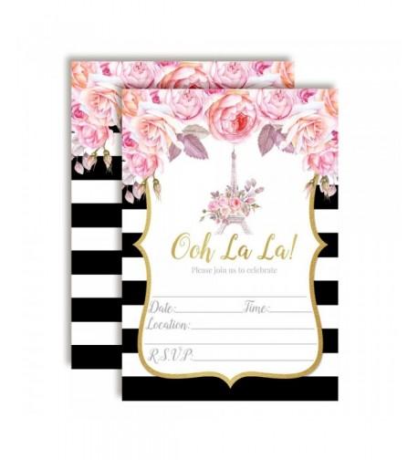 Watercolor Invitations Birthdays Engagement AmandaCreation