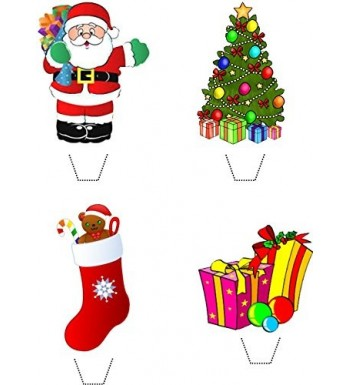 Christmas Collection Edible Stand toppers