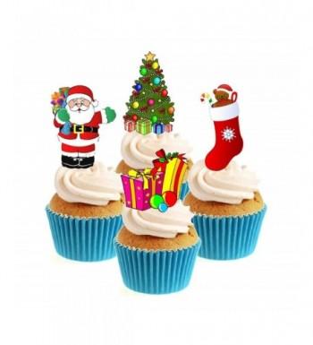 Cheap Designer Family Christmas Cake Decorations