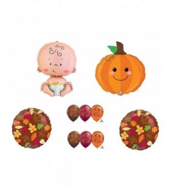 Pumpkin Party Balloons Decorations Supplies