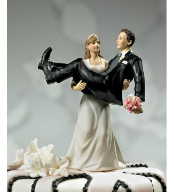 Have Hold Bride holding Figurine