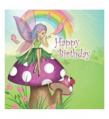 Creative Converting Birthday Napkins Purple